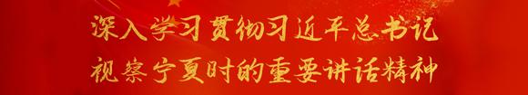 深入學習貫徹習近平總書記 視察寧(ning)夏時的(de)重要講話(hua)精神